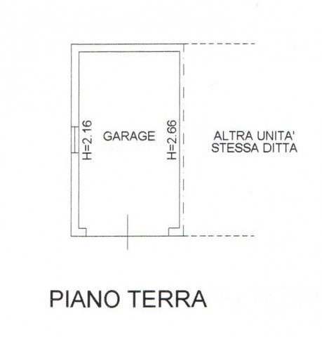 Vendo appartamento motta di livenza for Garage con al piano di sopra
