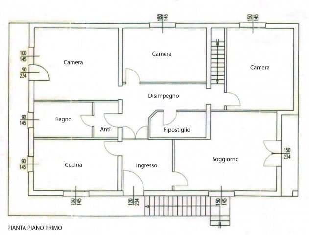 Vendo casa gorgo al monticano for Piani casa unifamiliare